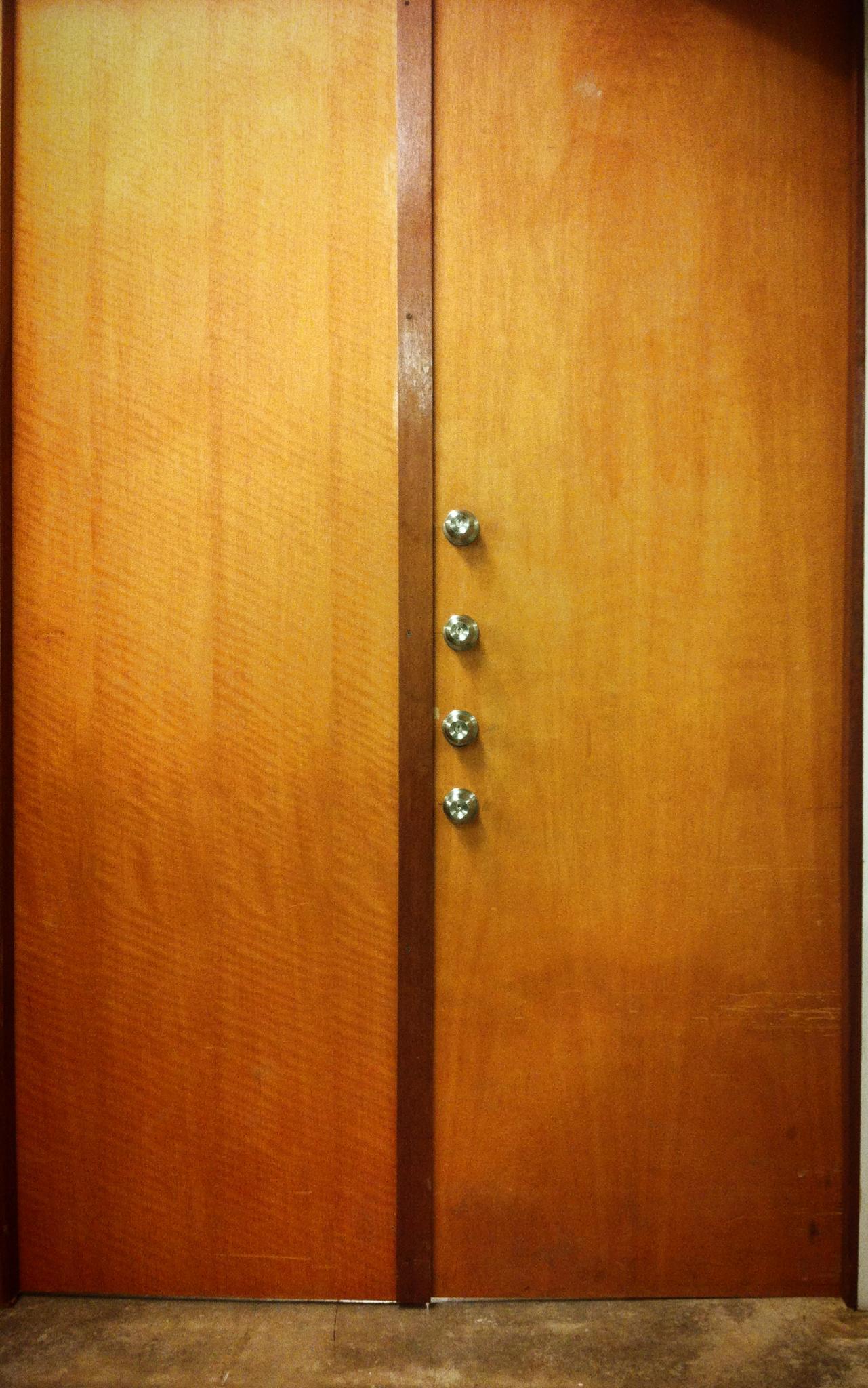 La puerta de la desconfianza